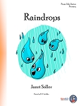 Raindrops - By Janet Soller: Piano Solo Primary Sheet Music